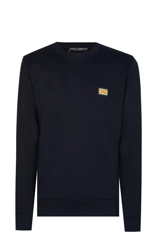 f9fbe70b DOLCE & GABBANA Dolce & Gabbana Plaque Sweatshirt - Clothing from Circle  Fashion UK