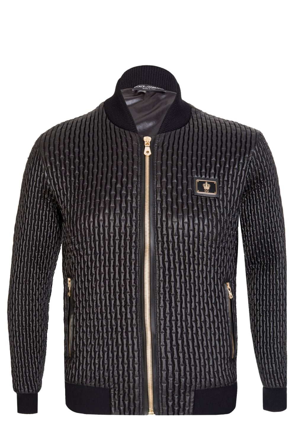 8ecd3b31db Quilted Detailed Bomber