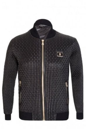 Dolce & Gabbana Quilted Detailed Bomber