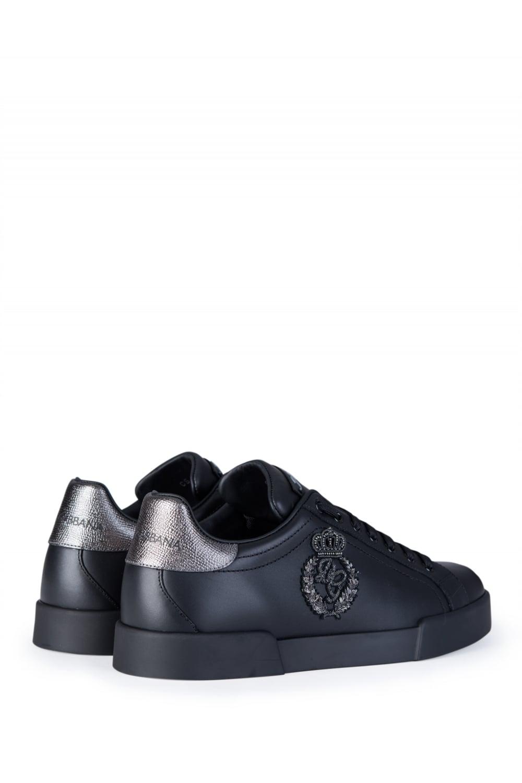 dolce gabbana side logo sneakers. Black Bedroom Furniture Sets. Home Design Ideas