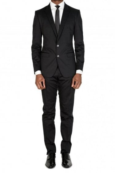 Dolce & Gabbana Two Piece Suit Black