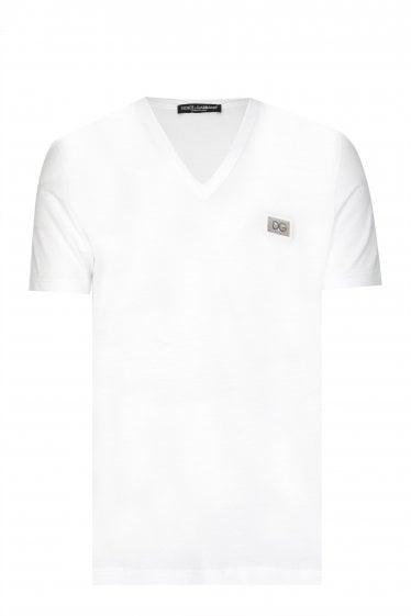 a280010b2985 Dolce   Gabbana V-neck T-shirt