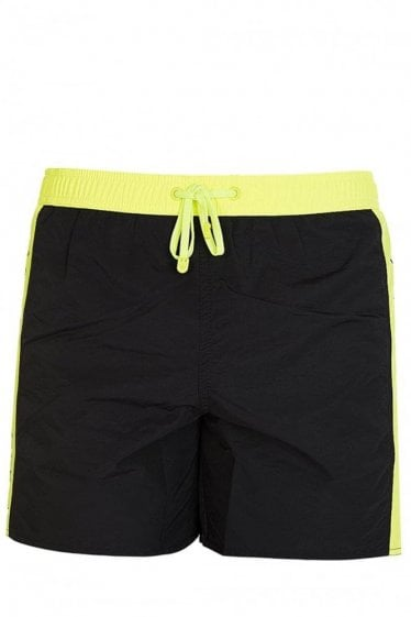 Armani EA7 Swim Shorts Charcoal
