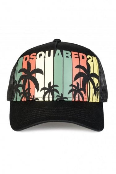 Dsqaured Palm Print Baseball Cap