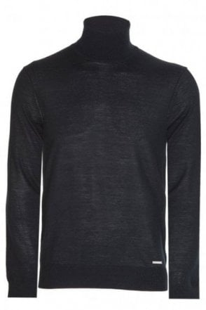 Dsquared 100% Wool Roll Neck Knit