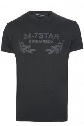 Dsquared 24-7 Star T-Shirt Black