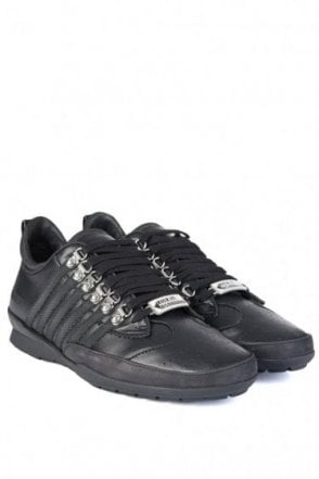 Dsquared 5 Stripe Sneakers Black