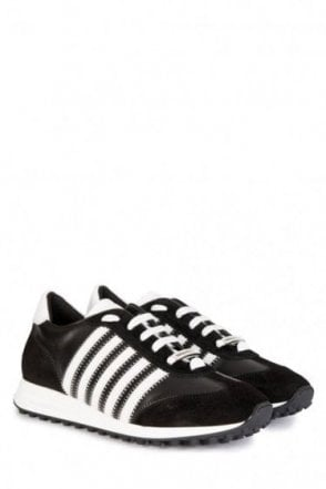Dsquared 5 Stripe Sneakers
