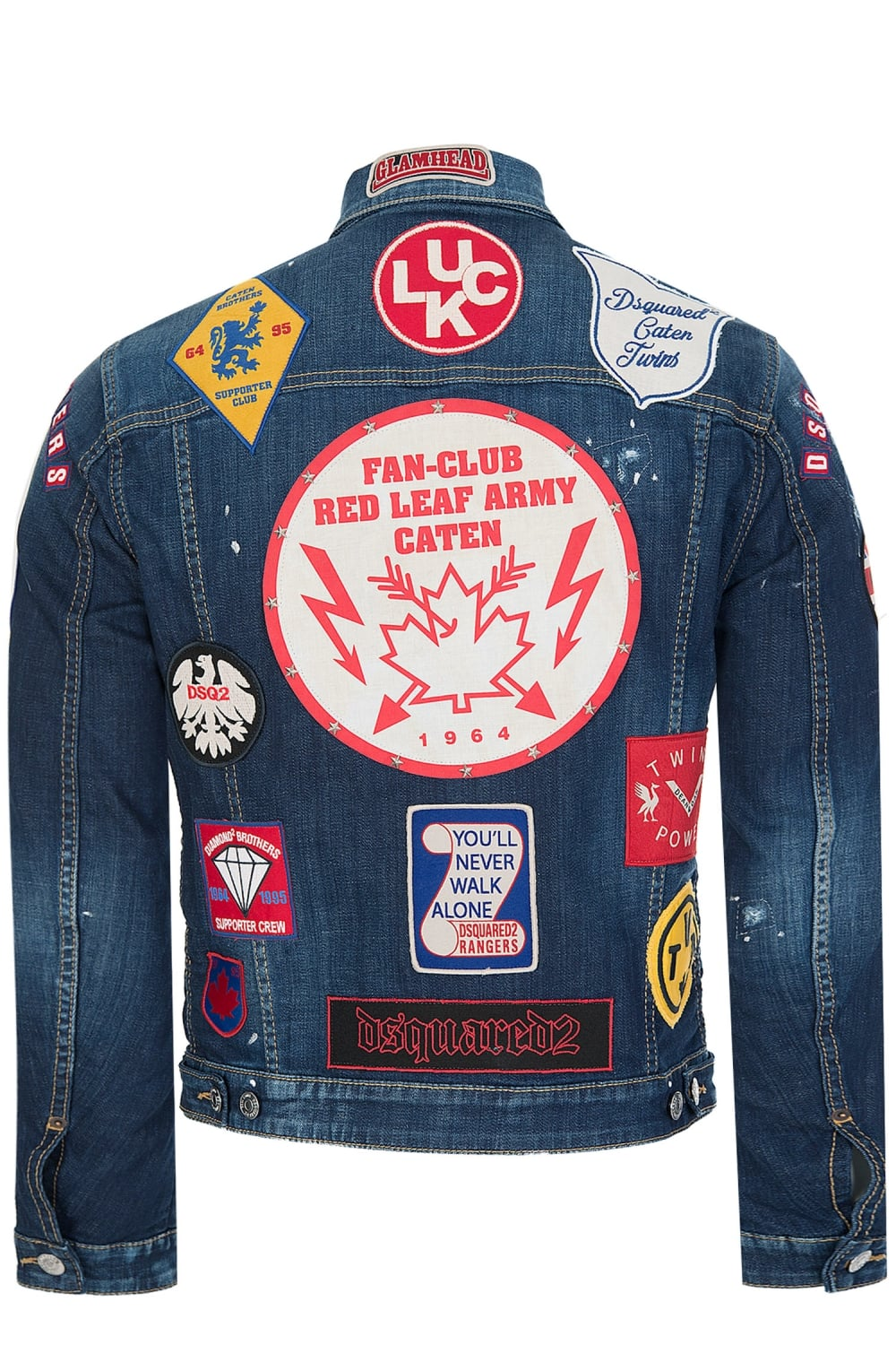 Dsquared2 Patch Dsquared2 Patch Denim Jacket 0H0Rw4