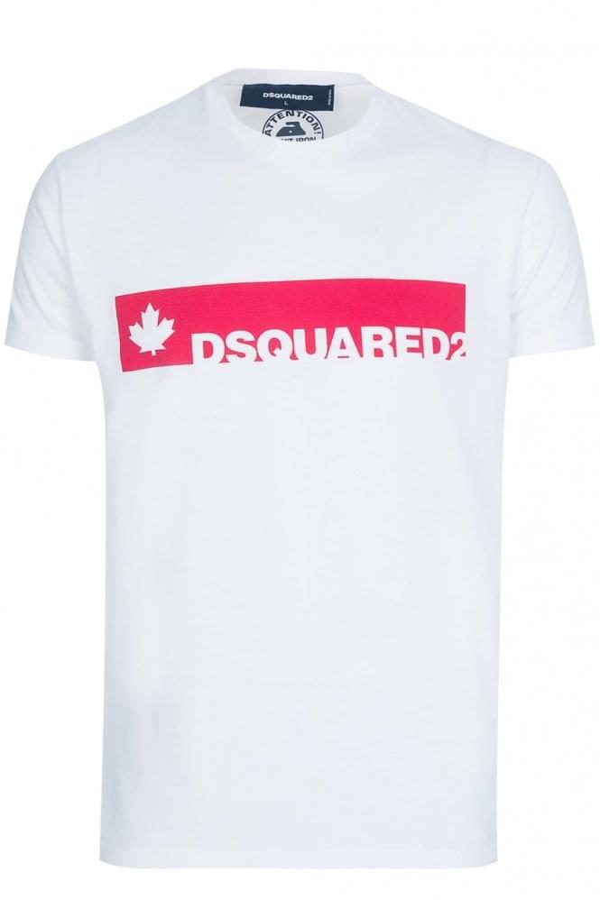 Dsquared Block Logo T Shirt