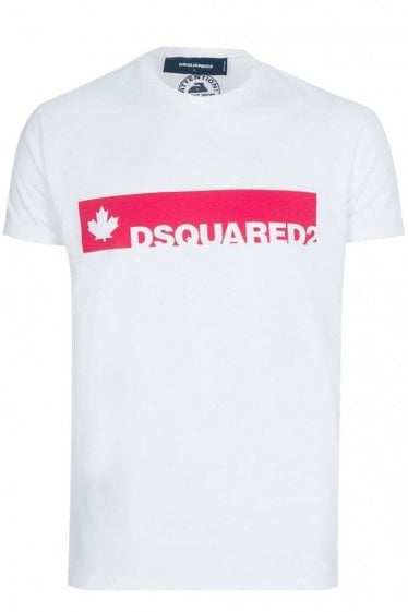 Dsquared Block Logo T Shirt