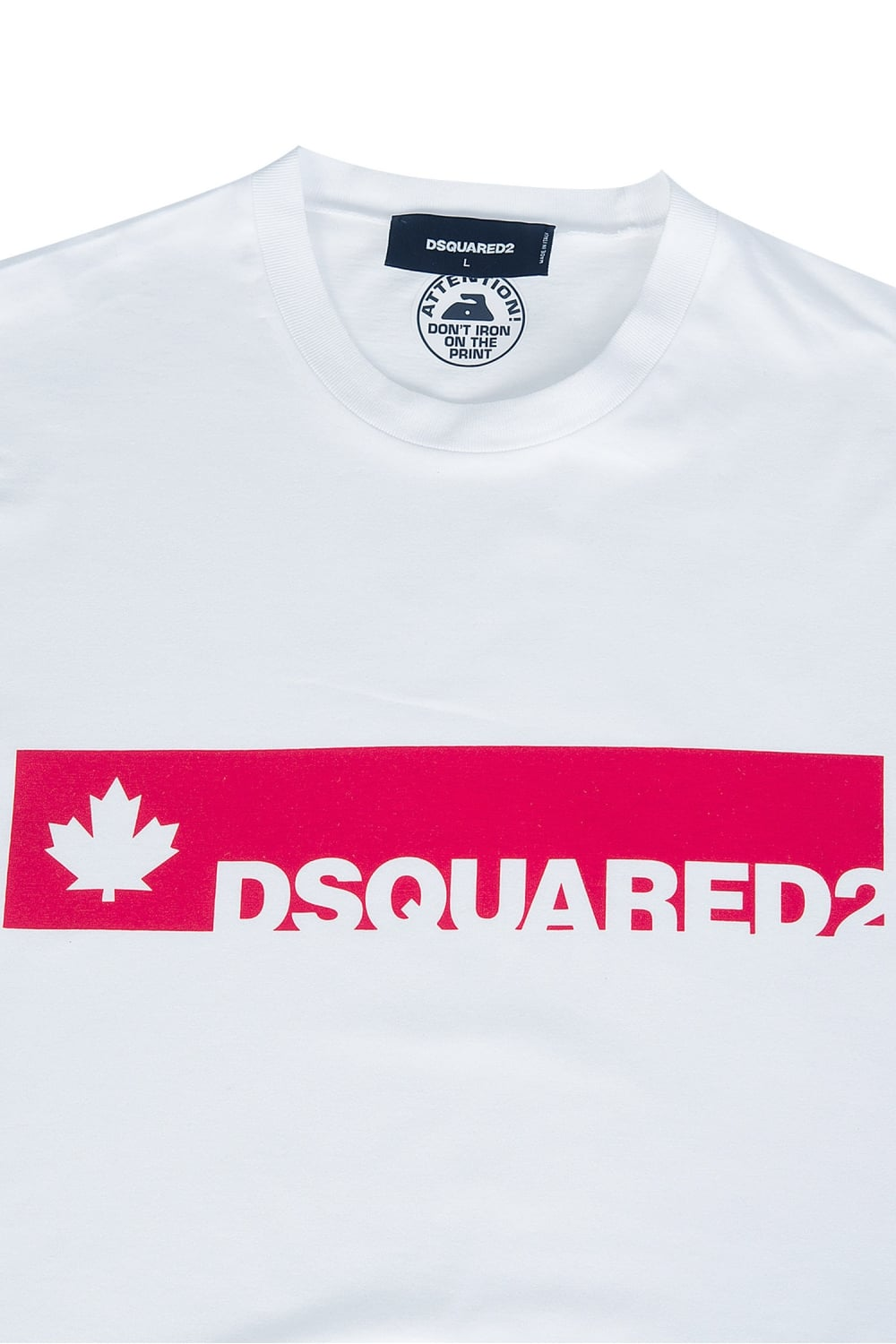dsquared block logo t shirt. Black Bedroom Furniture Sets. Home Design Ideas