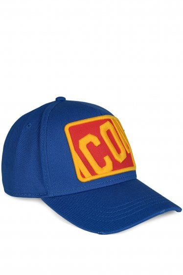 Dsquared Box Icon Baseball Cap Blue