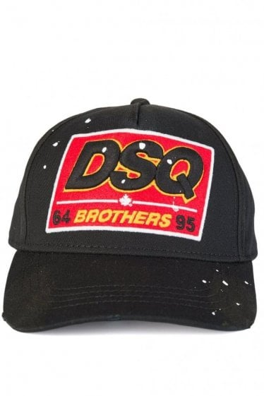 Dsquared Brothers Baseball Cap Black