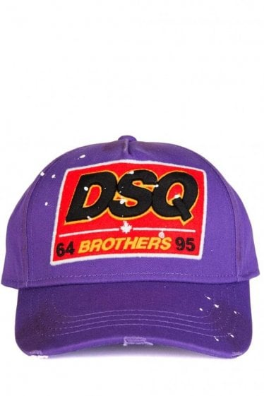 Dsquared Brothers Baseball Cap Purple
