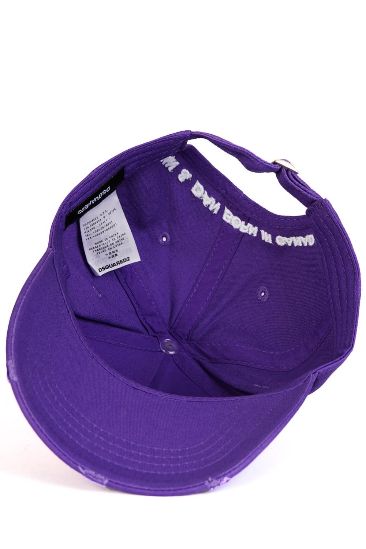 82e1b95ac Dsquared Brothers Baseball Cap Purple