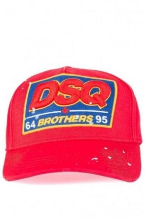 Dsquared Brothers Baseball Cap Red