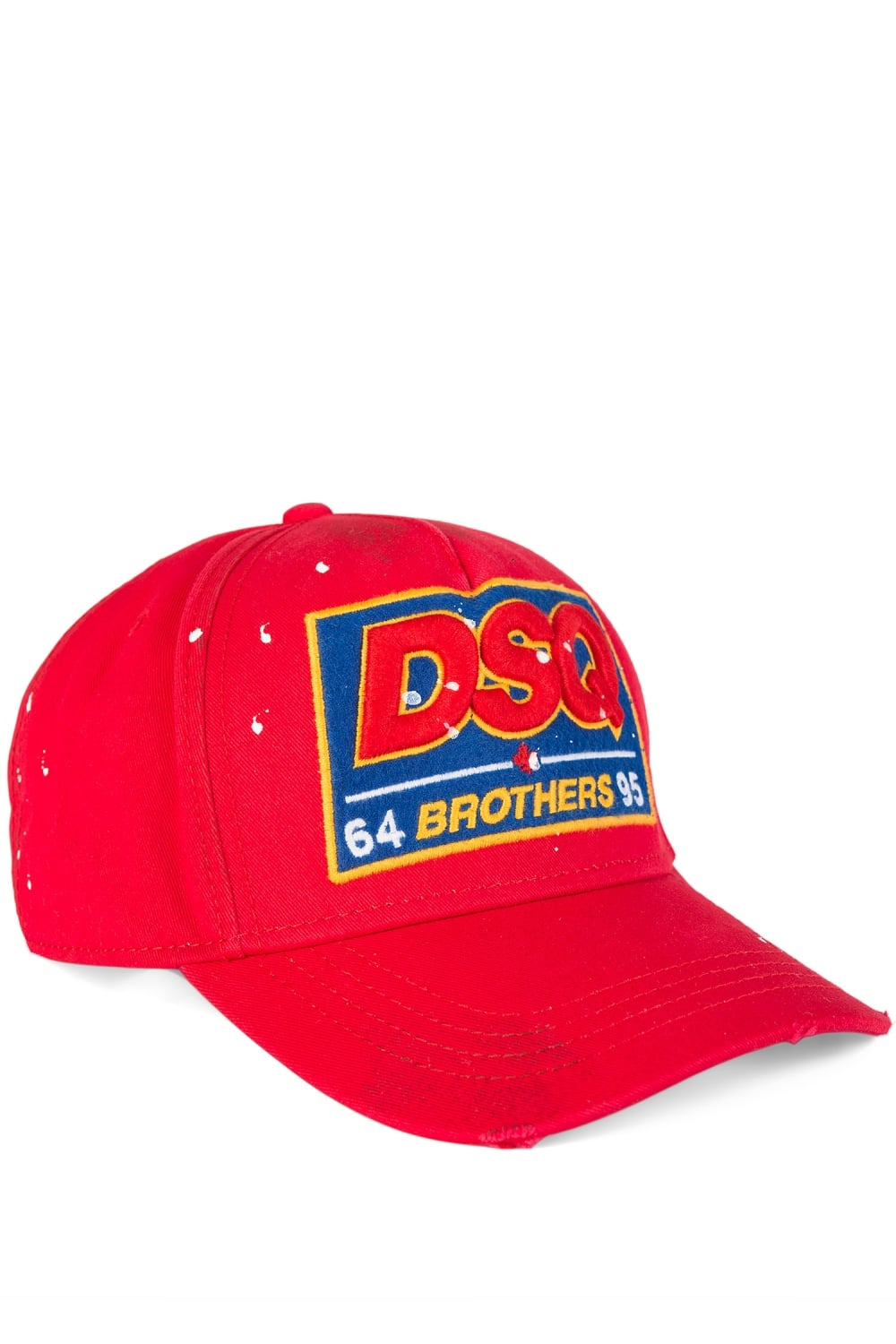 d44aa7d4d Dsquared Brothers Baseball Cap Red