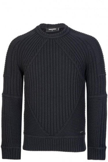 Dsquared Cable Knitted Jumper