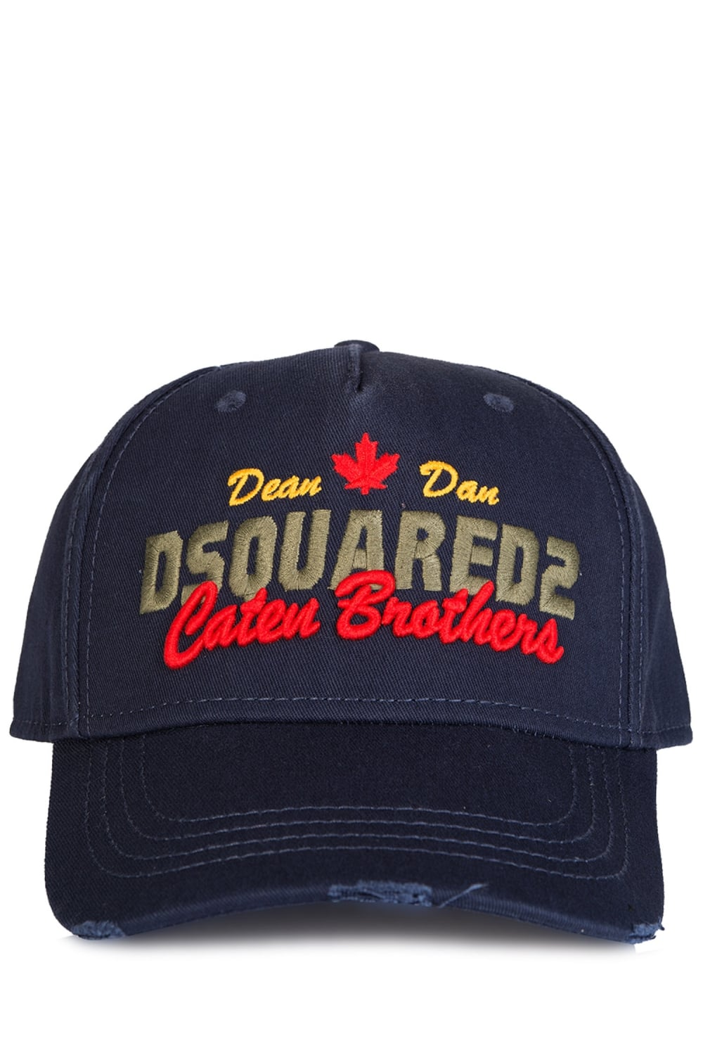 0eb098d7dae0eb Dsquared Caten Brothers Baseball Cap Navy