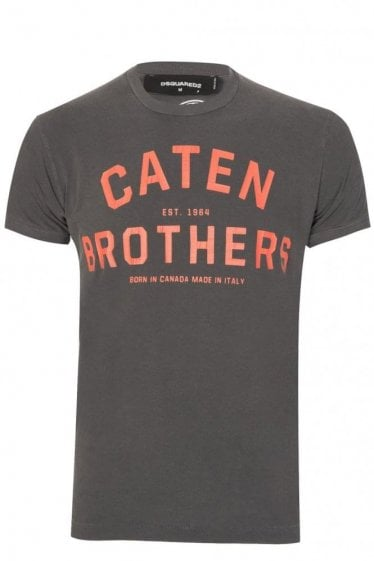 Dsquared Caten Brothers T-Shirt Grey