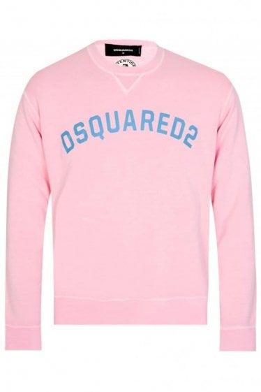 Dsquared Chest Logo Sweatshirt Pink