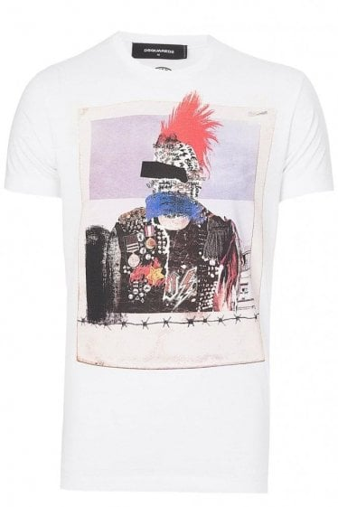 Dsquared Chic Dan Fit T-shirt White