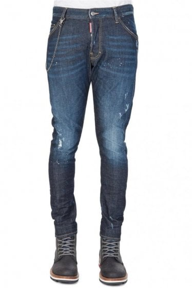 Dsquared Classic Kenny Twist Jeans Blue