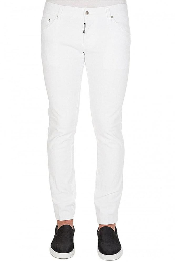 DSQUARED Clement Jeans White