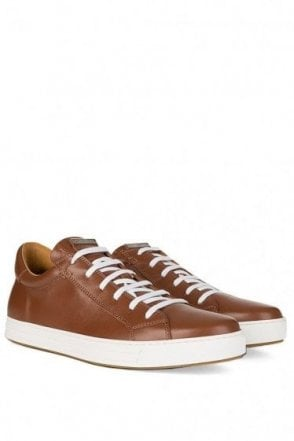 Dsquared Contrast Sole Sneakers Brown