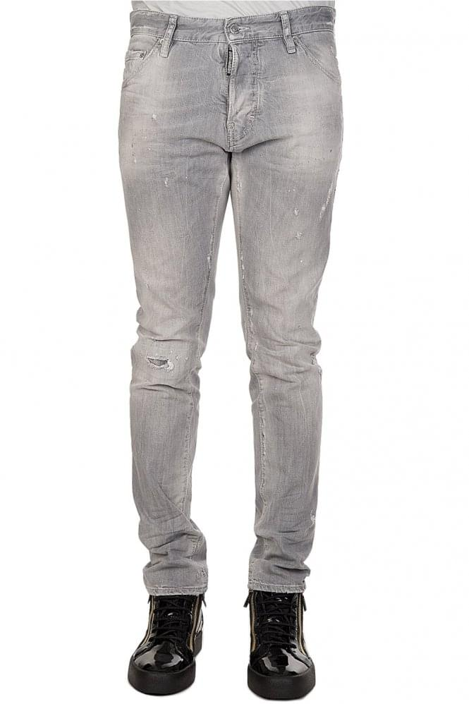 DSQUARED Cool Guy Grey Jeans