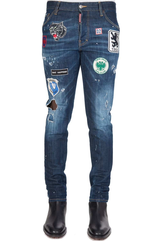 Cool Guy Dsquared Jeans Blue Patch uFK3clJ1T5