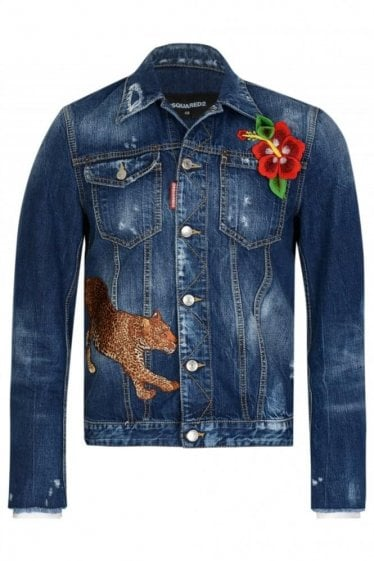Dsquared Denim Western Jacket