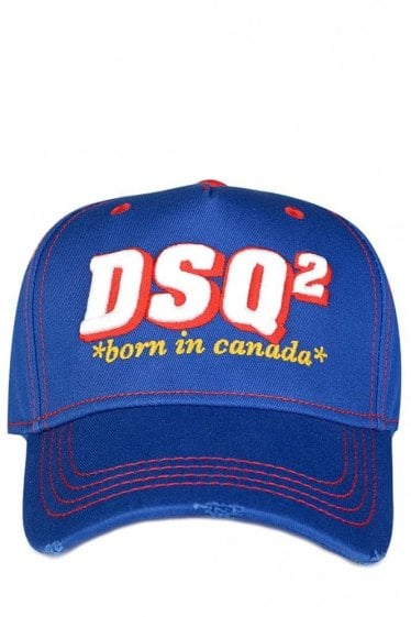 Dsquared 'DSQ2' Baseball Cap Blue
