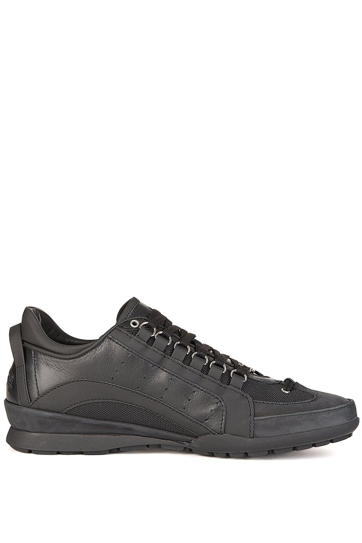 dsquared classic runner sneakers black