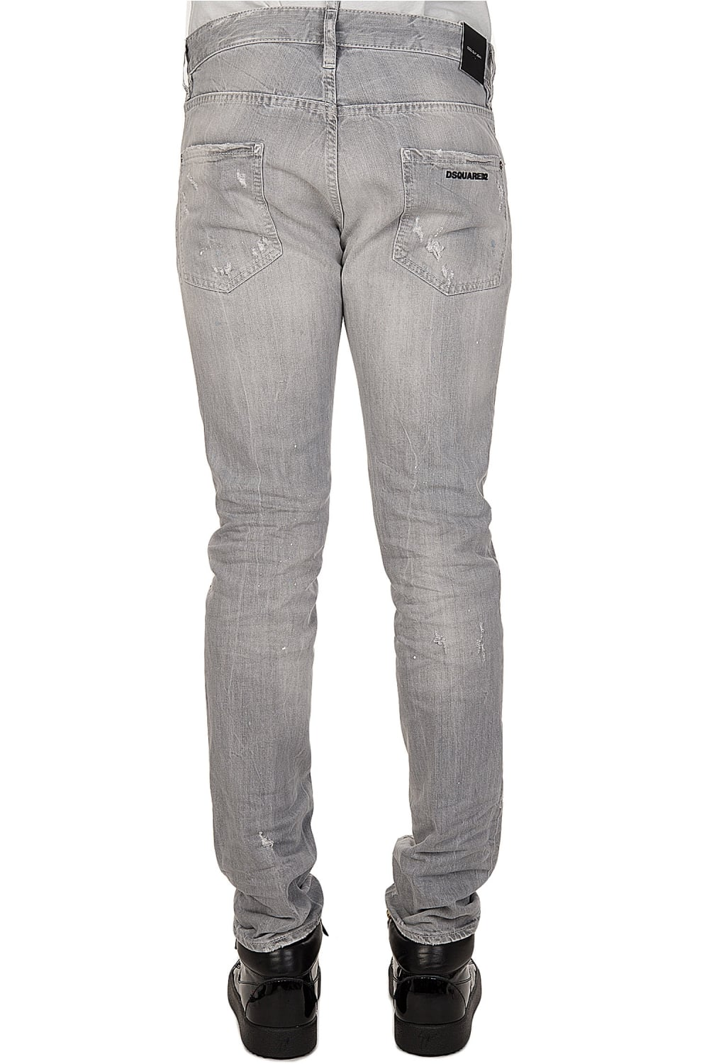 Black And Grey Jeans - Jeans Am