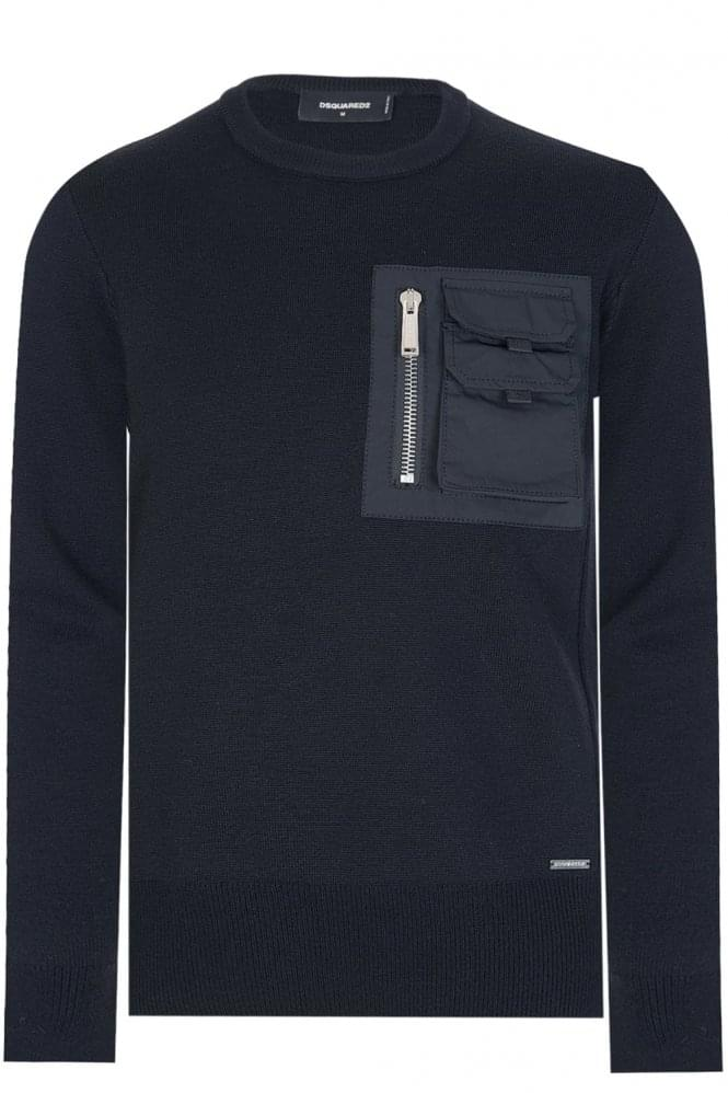 DSQUARED F.12 Sweatshirt Black