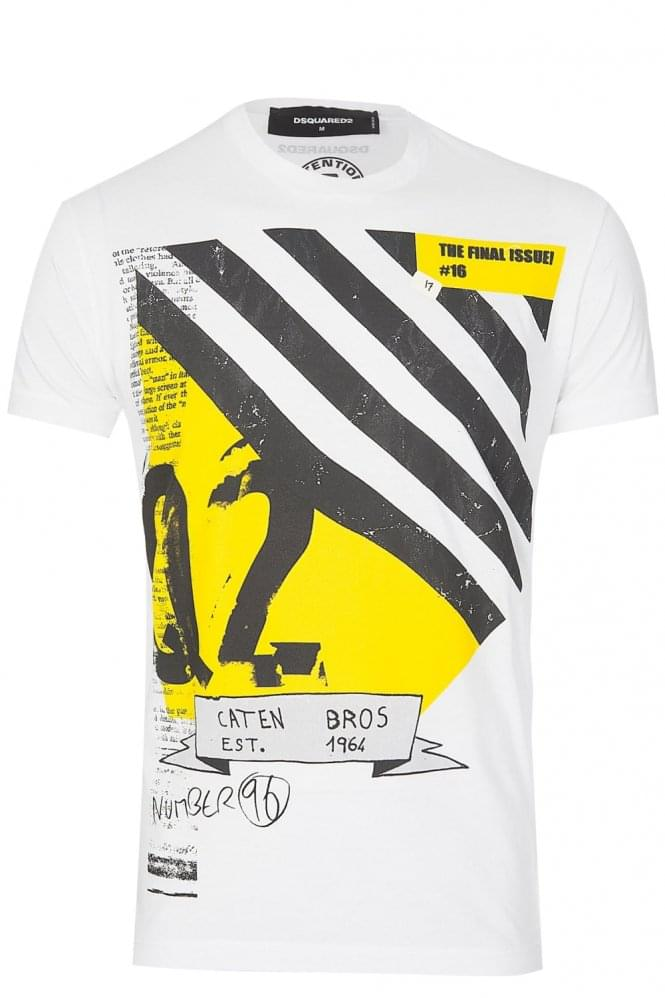 DSQUARED 'Final Issue' T-Shirt White