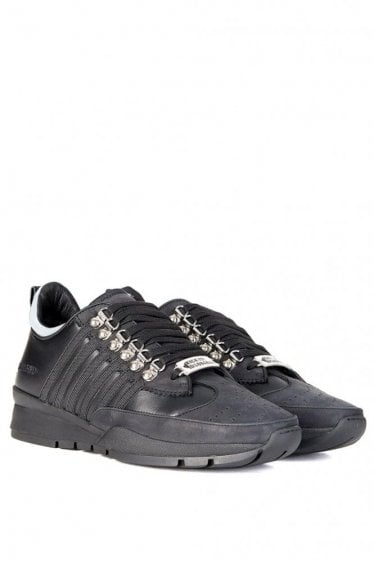 Dsquared Five Stripe Technica Sneakers Black
