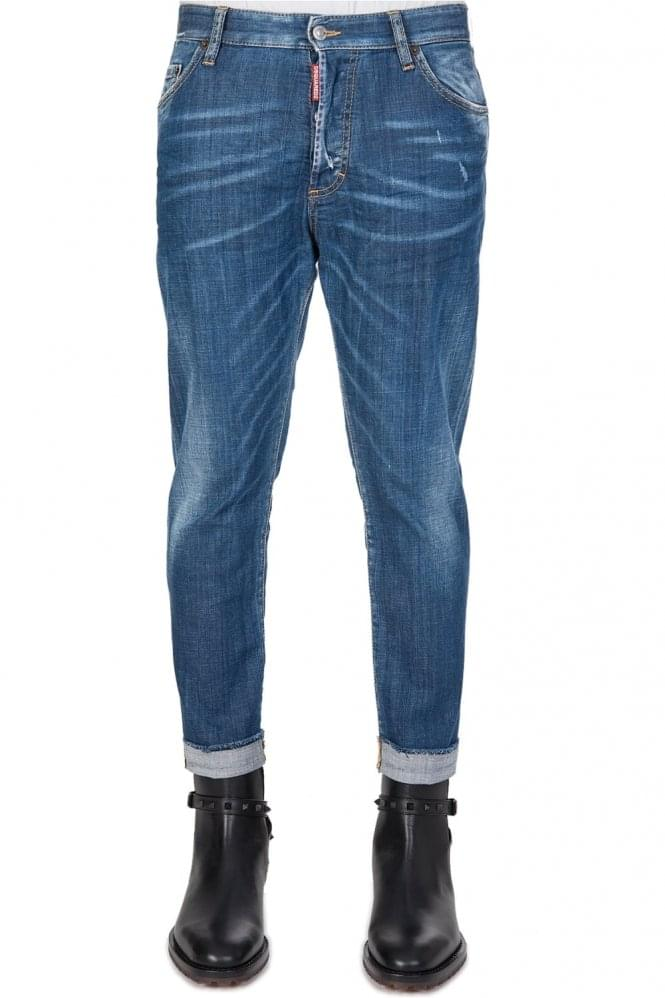DSQUARED2 Dsquared Glam Head Blue Jeans