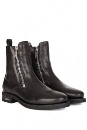 Dsquared High Rise Leather Boot