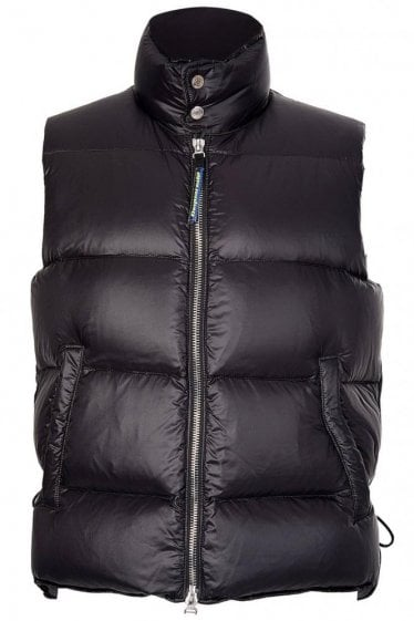 Dsquared Hooded Down Puffer Gilet