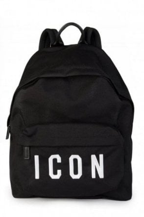 Dsquared Icon Backpack Black