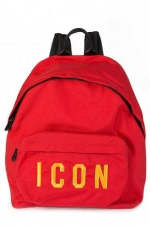 Dsquared Icon Backpack Red