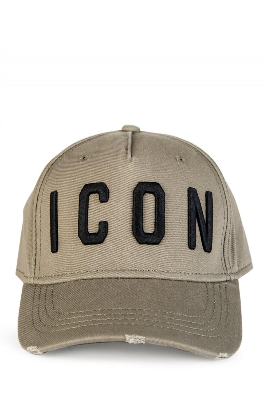 Dsquared Icon Baseball Cap Khaki