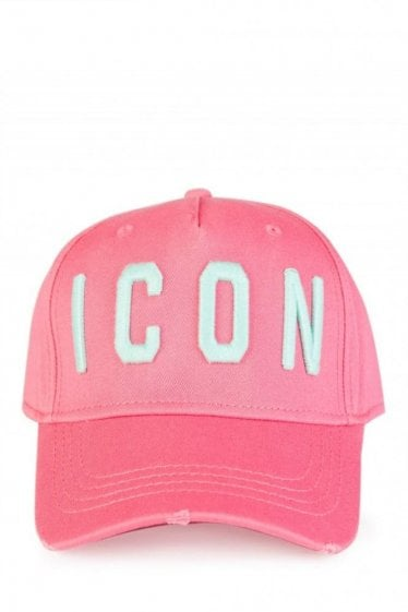 Dsquared Icon Baseball Cap Pink