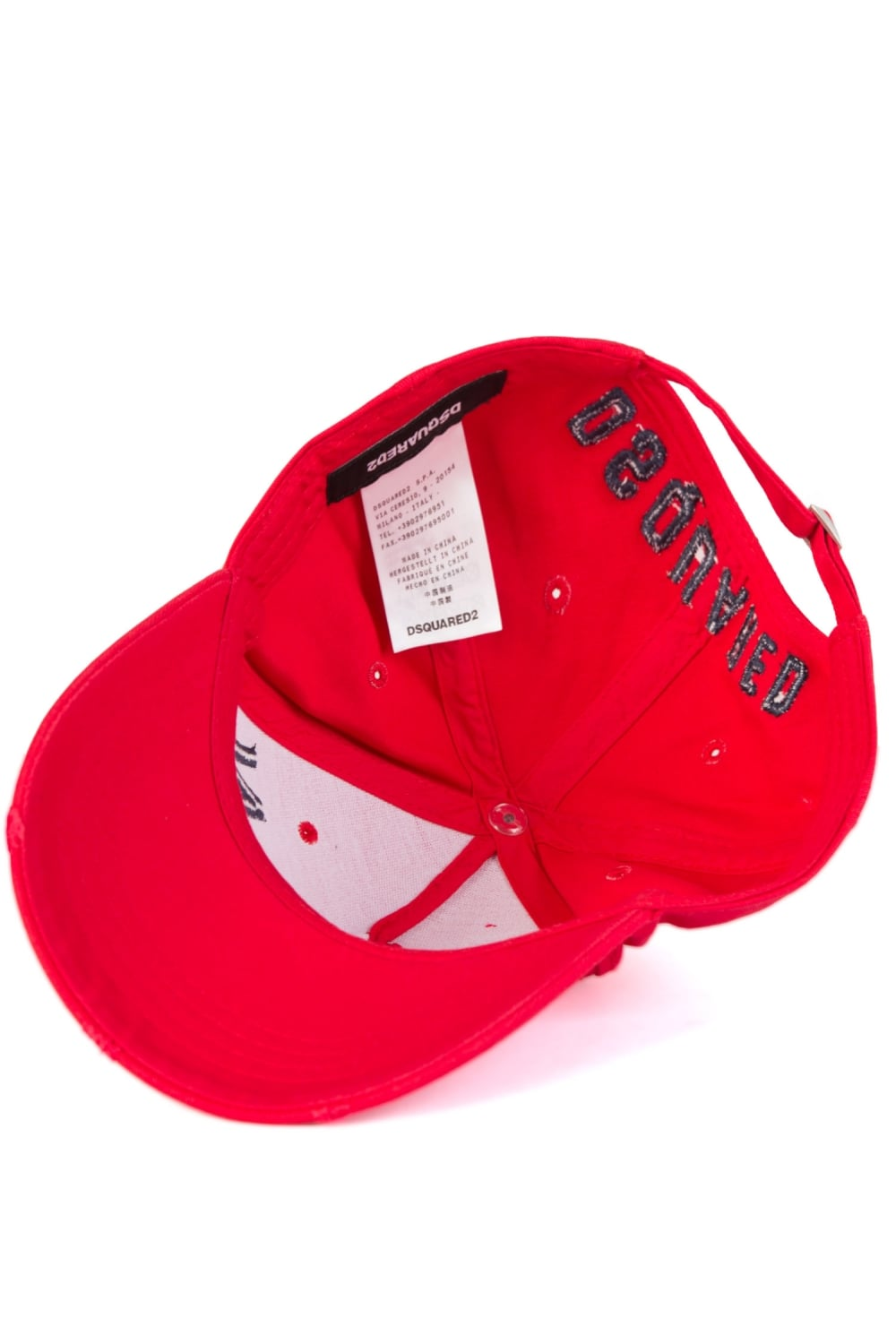 """Dsquared2 Cap Icon /""""New/"""" Red Label"""