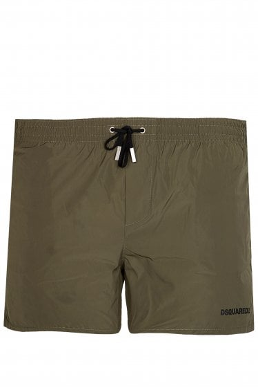 Dsquared Icon Swim Shorts Khaki