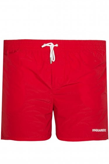 Dsquared Icon Swim Shorts Red