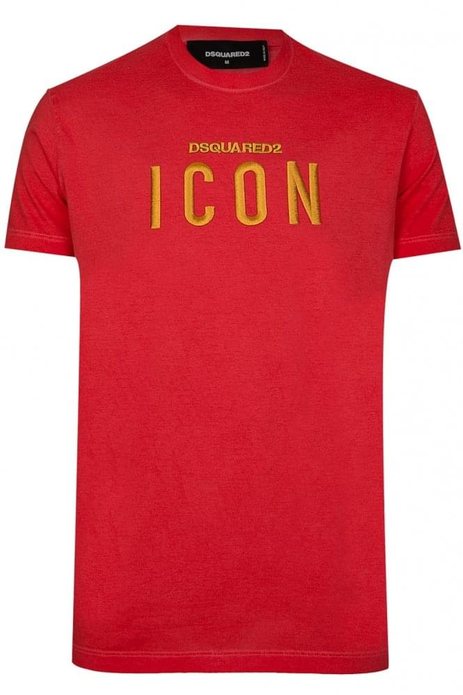 DSQUARED2 Dsquared Icon T-Shirt Red
